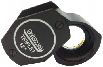 "BelOMO 12x Triplet Loupe Magnifier. 9mm (0.35"")"