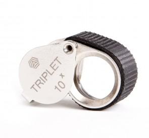 "Shvabe 10x Triplet Loupe Magnifier. 16mm (.62"") VOMZ"