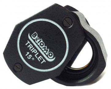 "BelOMO 15x Triplet Loupe Magnifier. 9mm (.35"")"
