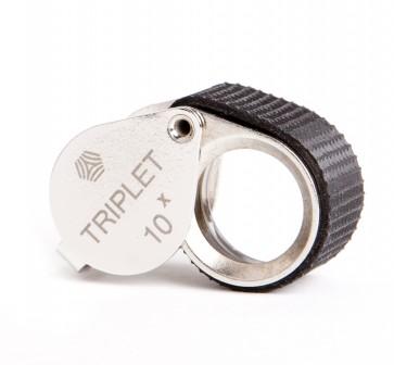 """10x Triplet Loupe Magnifier. 16mm (.62"""")"""