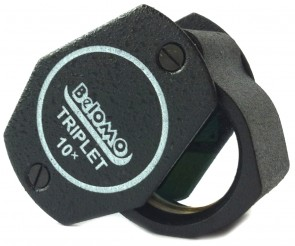 "BelOMO 10x Triplet Loupe Magnifier. 21mm (.82"")"