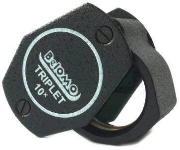"""BelOMO 10x トリプレット・ルーペ拡大鏡 17mm (.67"""")"""