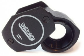 "BelOMO 20x 四つ組ルーペ. 7mm (0.28"")"